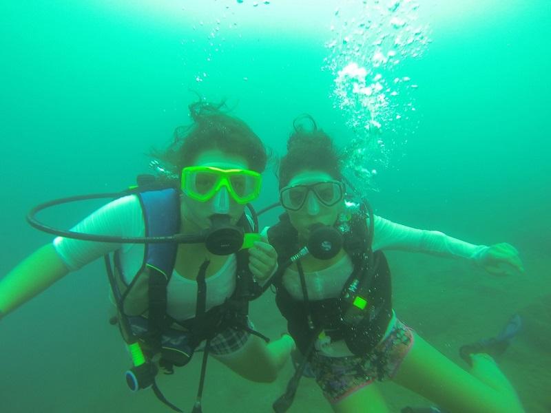 scuba diving in laguna de apoyo nicaragua